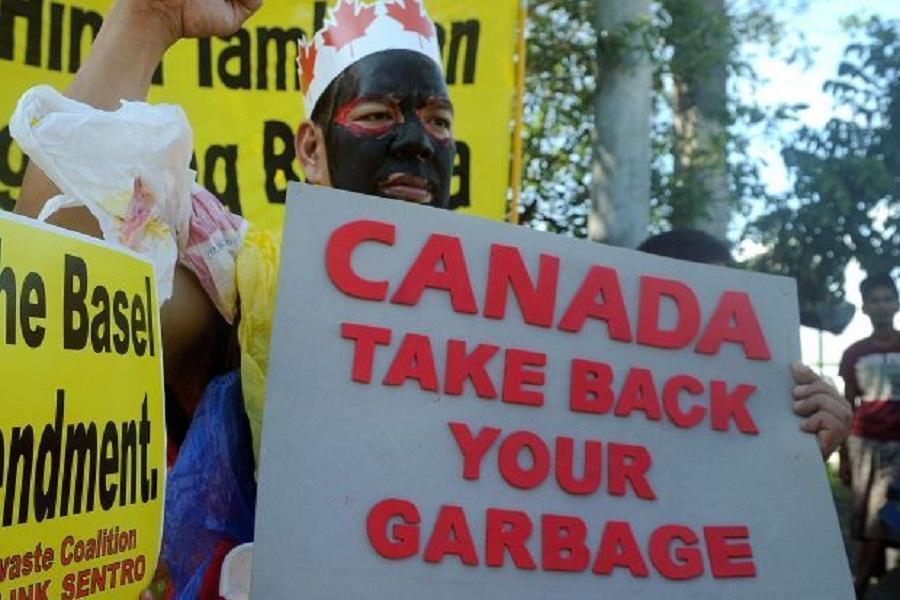 نزاع فیلیپین و کانادا بر سر زباله