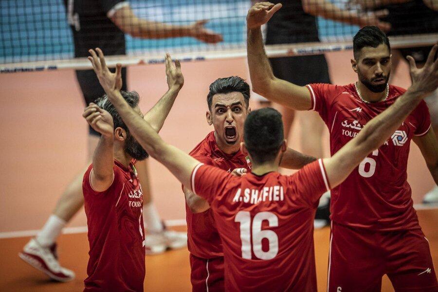 لیگ ملت های والیبال ، پیروزی سرو قامتان ایران بر کانادا؛ ایران 3 - کانادا صفر