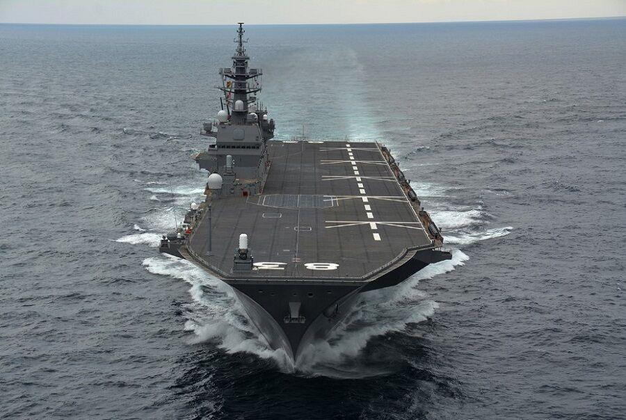 عبور کشتی جنگی کانادایی از تنگه تایوان