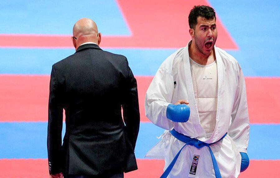 برنز لیگ جهانی کاراته کانادا بر گردن عباسعلی و گنج زاده