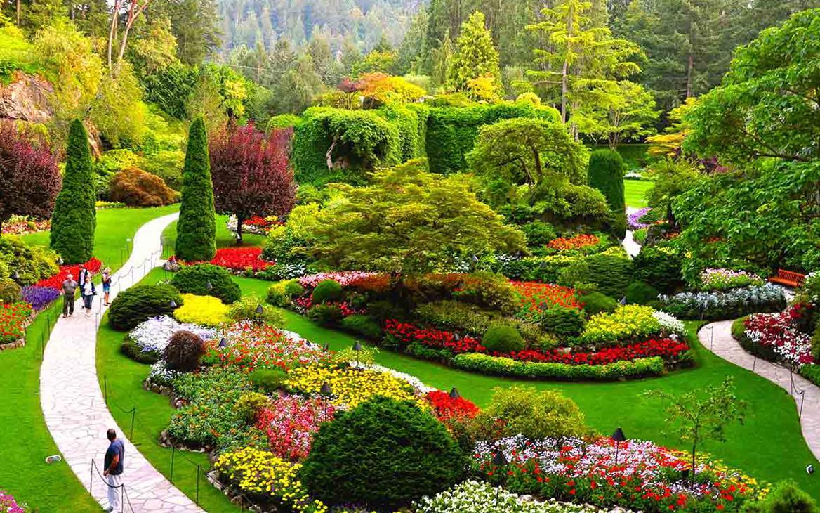 باغ های بوچارت ونکوور (کانادا)