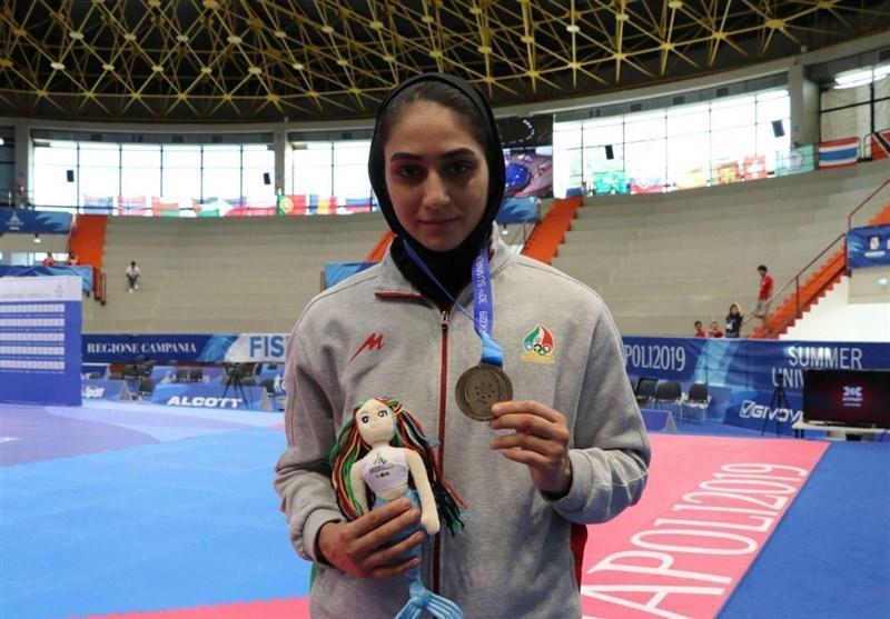 یونیورسیاد 2019 ایتالیا، بخشی: شانسم برای کسب سهمیه المپیک زیاد شد، میرحسینی: برای کسب مدال سخت جنگیدم