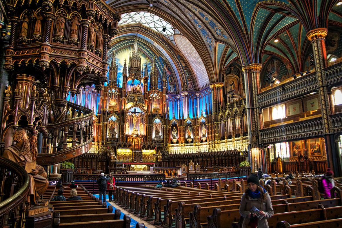کلیسای نوتردام مونترال (کانادا)
