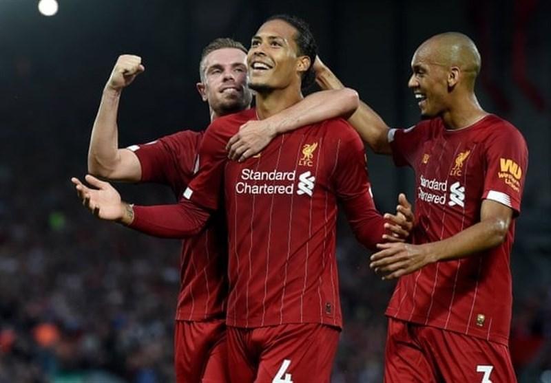 فزونی قاطعانه لیورپول در بازی افتتاحیه لیگ برتر انگلیس