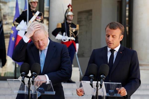 فرانسه: انگلیس دولت زیر دست آمریکا می گردد