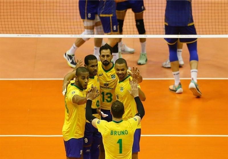 لیگ ملت های والیبال، برزیل پس از ایران به مرحله نهایی رسید، لهستان و کانادا امیدوار به صعود