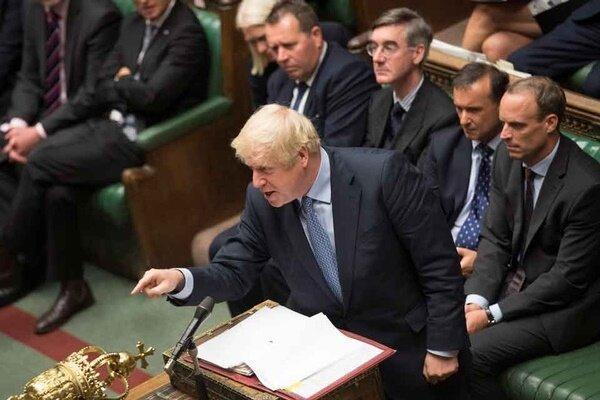 مجلس انگلیس به طرح جانسون برای انتخابات زودهنگام رأی منفی داد