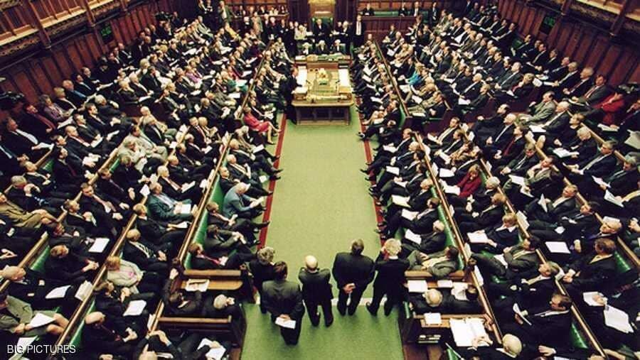 مجلس انگلیس تعلیق شد