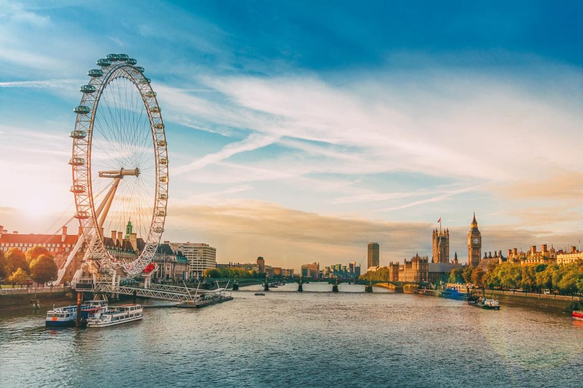 چرخ و فلک چشم لندن (انگلیس)