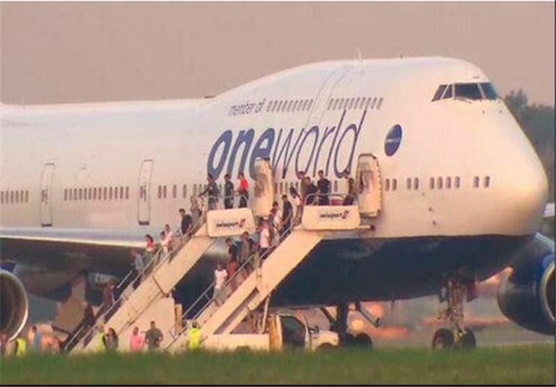 فرود اجباری هواپیمای مسافربری انگلیس پس از تهدید بمب گذاری