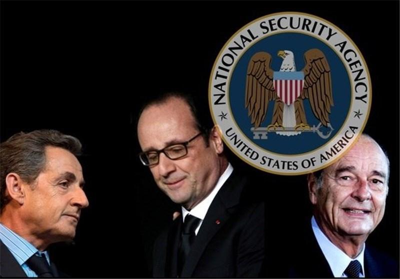 انگلیس و سایر شرکای آمریکا در جاسوسی از فرانسه دست داشته اند
