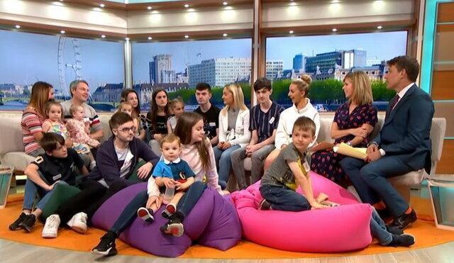 پرجمعیت ترین خانواده انگلیسی 24 نفره می گردد