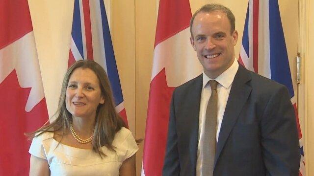 گفت وگوی وزرای خارجه انگلیس و کانادا درباره ایران